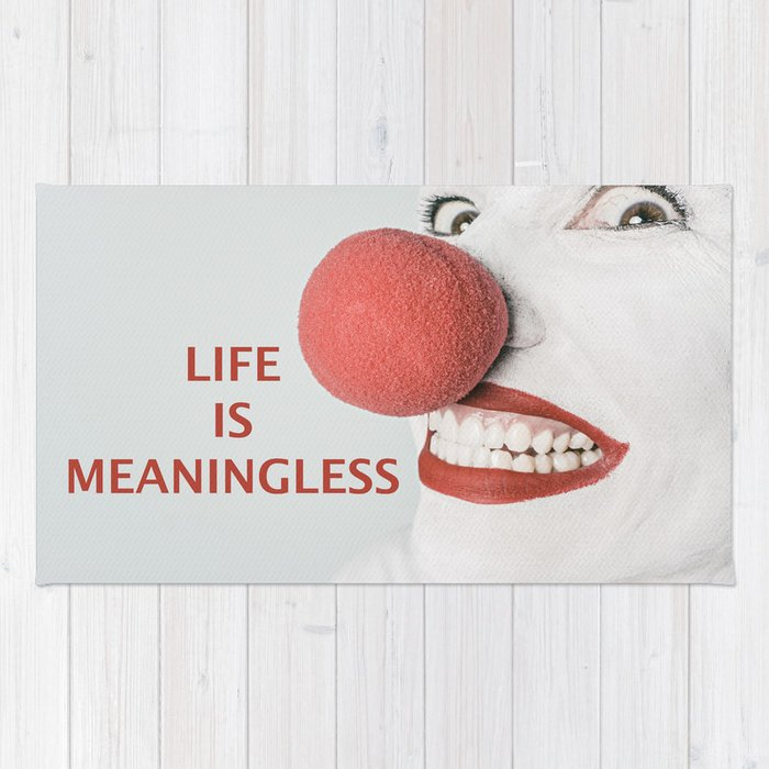 Meaning of life Rug