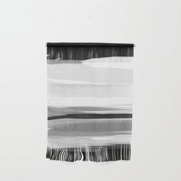 Soft Determination Black & White Wall Hanging