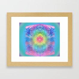 DESTINY'S LOVE Framed Art Print
