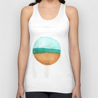 wisconsin Tank Tops featuring Wisconsin by karleegerrand