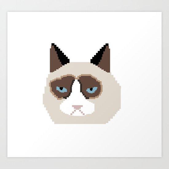 Tar Dar Cat Art Print