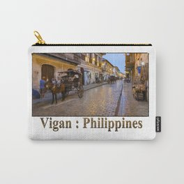 Vigan : Philippines Carry-All Pouch