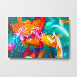 Trippy Fish Metal Print