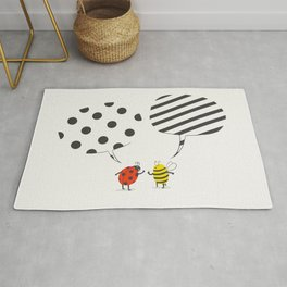 Pattern conflict Rug