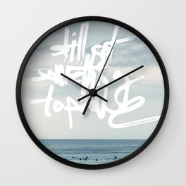 something to prove Wall Clock