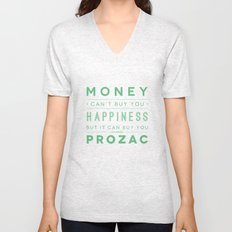 Prozac Nation Unisex V-Neck