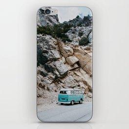 Classic Campervan Adventures iPhone Skin