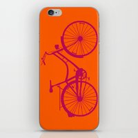bicycle iPhone & iPod Skins featuring Bicycle by Mr and Mrs Quirynen