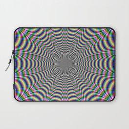 Psychedelic Web Laptop Sleeve