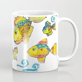 When fish fly Coffee Mug