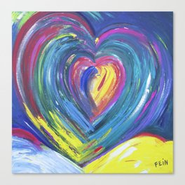 Heart by Sheila Fein Fantasy Pop Canvas Print