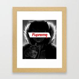 Svccboi Fupreme Framed Art Print