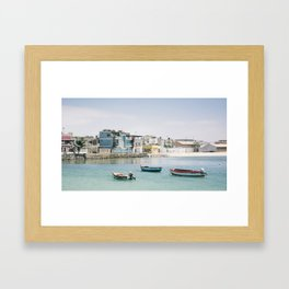 Cape  Verde Coast Framed Art Print