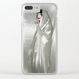 """say no to patriarchy / """"the prudence"""" Clear iPhone Case"""
