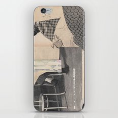 the face that replaces darkness iPhone & iPod Skin