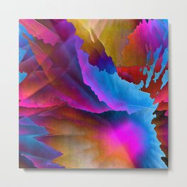 Fantasy Lights Metal Print