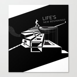 Life's New Beginnings  Canvas Print