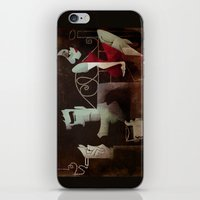 noir iPhone & iPod Skins featuring noir by michael lombardi