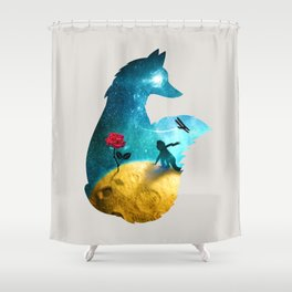 The Most Beautiful Thing (light version) Shower Curtain