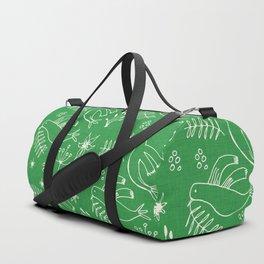 Christmas Dove Green Duffle Bag