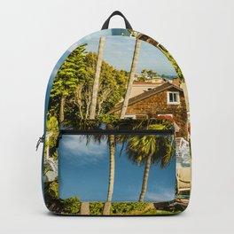 Sunny Summer Day 5533 Laguna Beach Backpack