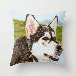 A Good Day Throw Pillow