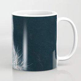 Cyanotype - Aloe Socotrina Coffee Mug