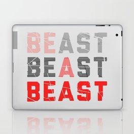 Be a Beast Laptop & iPad Skin