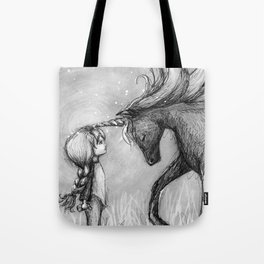 Enchantment of the Unicorn Tote Bag