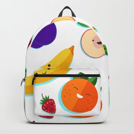 happy fruits and berries Backpack
