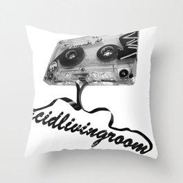 AcidLivingRoom Throw Pillow