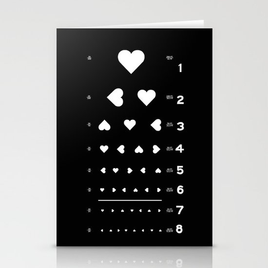 Can you see the love? Stationery Cards
