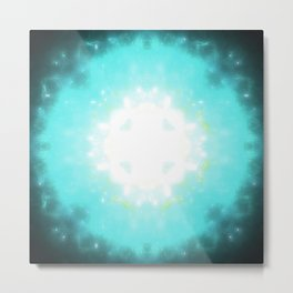 LIGHT IN THE DARK Metal Print