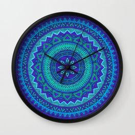 Hippie mandala 55 Wall Clock