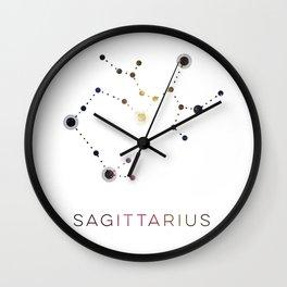 SAGITTARIUS STAR CONSTELLATION ZODIAC SIGN Wall Clock