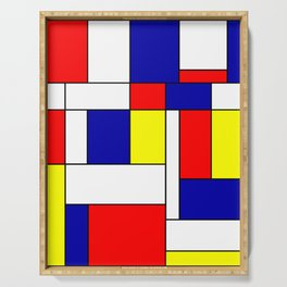Mondrian #38 Serving Tray