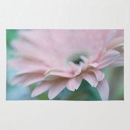 Pink Gerbera Daisy Rug