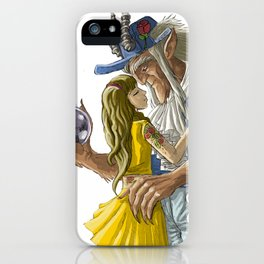 laberinto hip hop belle and the beast mash up iPhone Case
