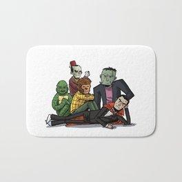 The Universal Monster Club Bath Mat