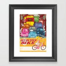 Going Nowhere Fast! Framed Art Print