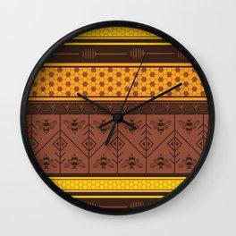 Waxing Poetic Wall Clock