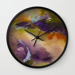 """Fall Drift"" Wall Clock"