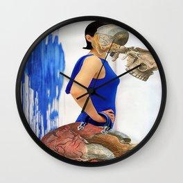 Mi corazón Wall Clock