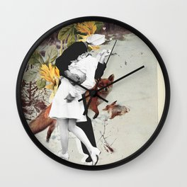 Animal Love Wall Clock
