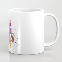 Young snowboarder man 02 in watercolor Coffee Mug
