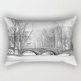 Stone Bridge Clove Lake Park Rectangular Pillow