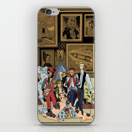 The League of Extraordinary David Bowies iPhone Skin