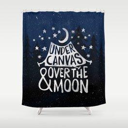 Under Canvas Shower Curtain