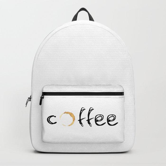 coffee... Backpack