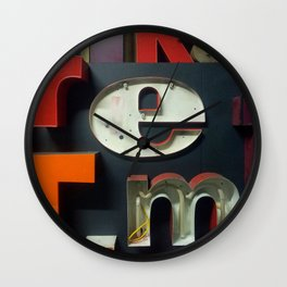 East New York Wall Clock